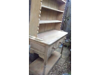 Beautiful bespoke Welsh Dresser - good condition well made vintage