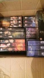 Buffy the vampire slayer and Angel videos