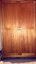 Good condition real oak bedroom furniture