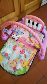 Fisher Price kick and play piano gym mat