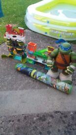 Ninja turtles houses