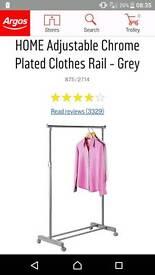 New Clothes Rail Argos
