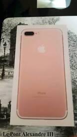 Apple iPhone ROSE GOLD 7PLUS
