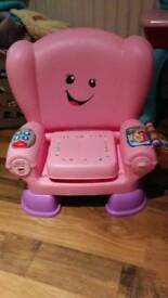 Kids singing interactive play chair