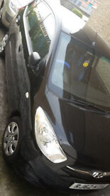 i10 1.2 Hyundai black car for sale. Only 11700 miles!!! Hardly used excellent condition FSH