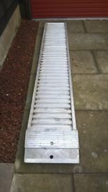 MOTORBIKE ALUMINIUM RAMP FOR VAN OR TRAILER