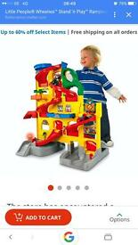 Fisher price little people stand n play ramp way