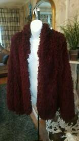 Purple cardigan size m