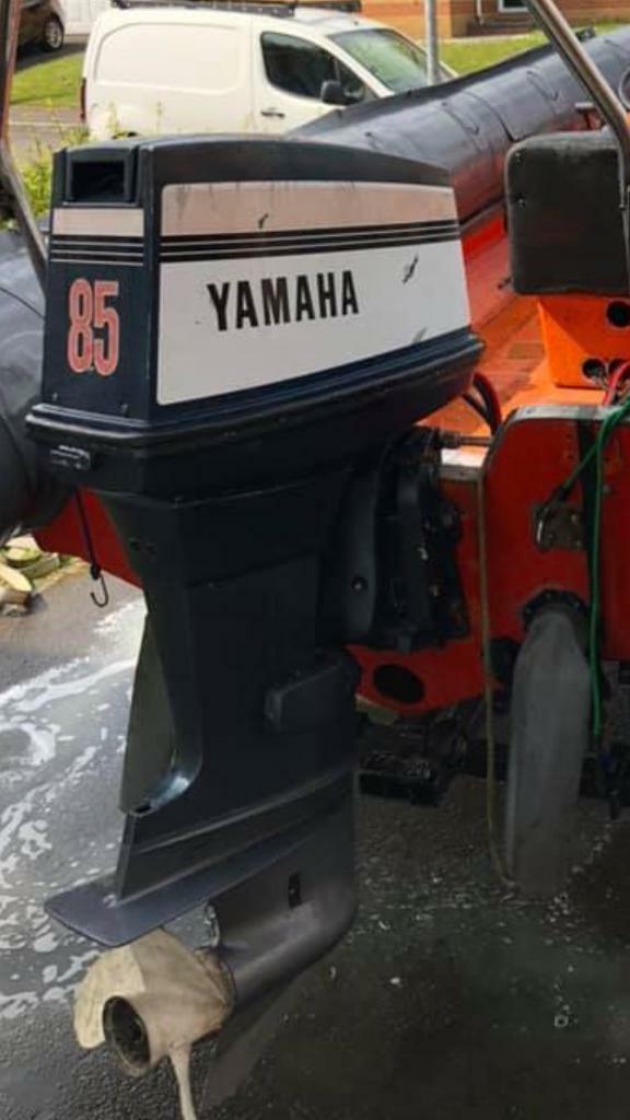 Yamaha 85 outboard | in Abercynon, Rhondda Cynon Taf | Gumtree