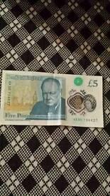 AK30 £5 NOTE