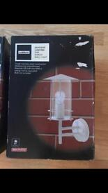 Out door lights x3 new in box