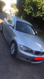 BMW 1 series 120d Msport 2007 (not vxr Astra seat leon fr Audi A3 turbo golf gti tdi )