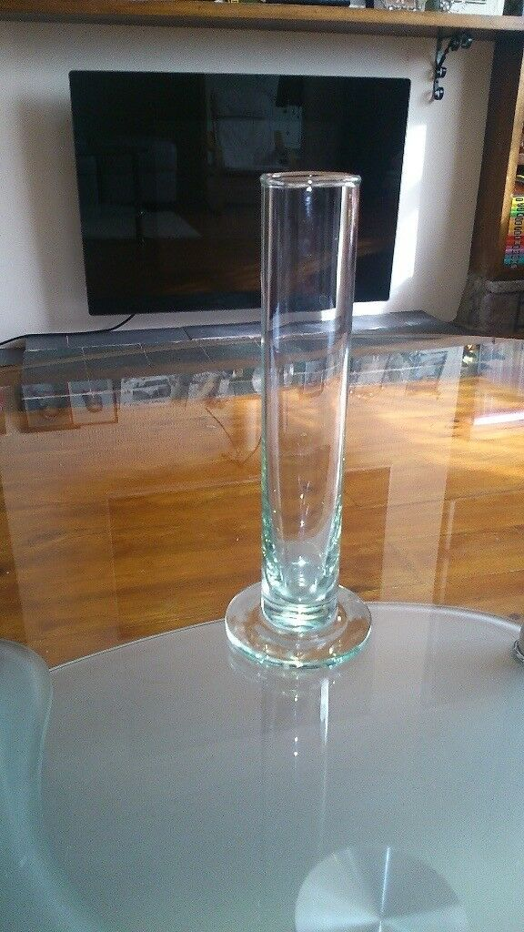 SLIM GLASS TEST TUBE STYLE VASE