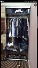 Double sliding wardrobes