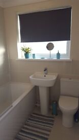 2 furnished rooms for rent at modern semi detached property