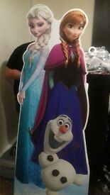 Frozen photo props