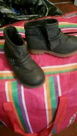 Shoes & boots, kid boot from mother care store, size 10 age 2 to 4 years would wear the boot