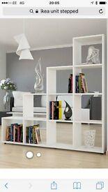 White furniture 2 high gloss TV cabinets and a unit (unit matt not gloss)