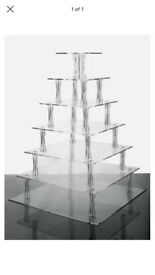 5 Tier and 7 Tier Acrylic Cake Stands