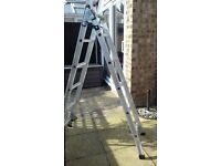Aluminium Extension Ladders 3-way