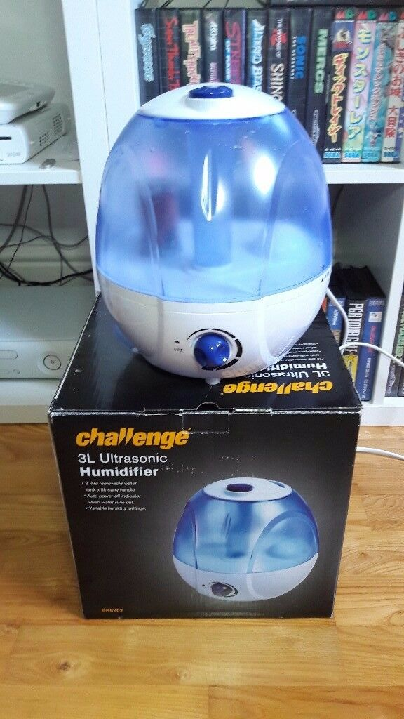 Challenge 3L Ultrasonic Humidifier (£16)