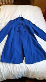 "Ladies blue ""south"" jacket size 12"