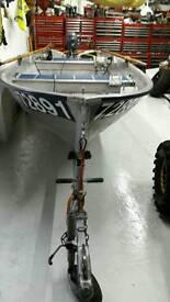 Linda 440 aliminuimn open fish boat