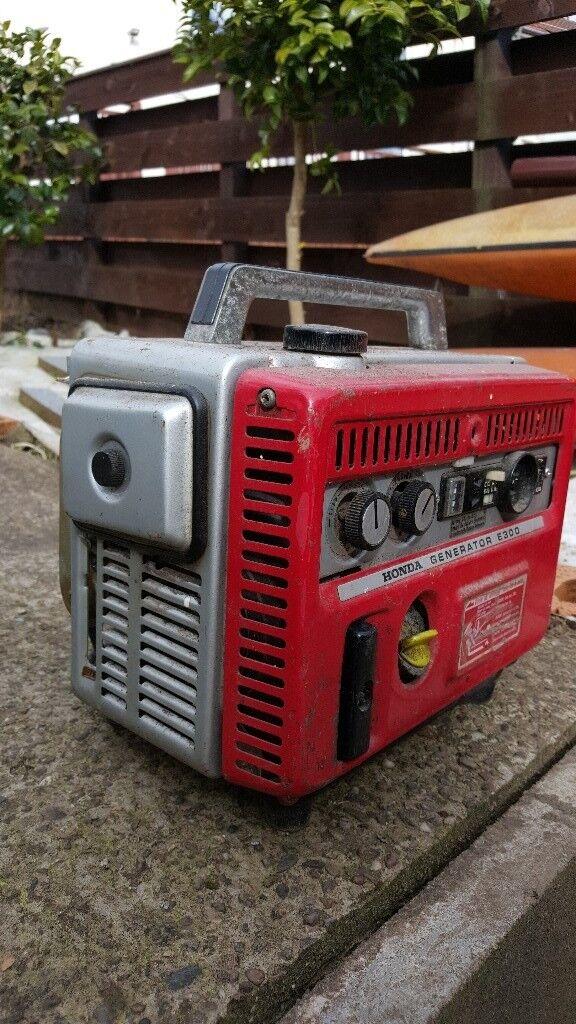 honda e300 suitcase generator in kilbirnie north. Black Bedroom Furniture Sets. Home Design Ideas