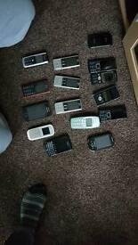 Job lot mobile phones