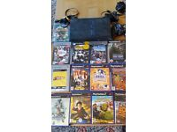 PS2 plus 13 games ...no power lead so cheap price