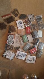 Collection of beautiful stamps and ink pads