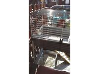Two tier Pet cage, suitabke small rabbit, guinea pig, kitten