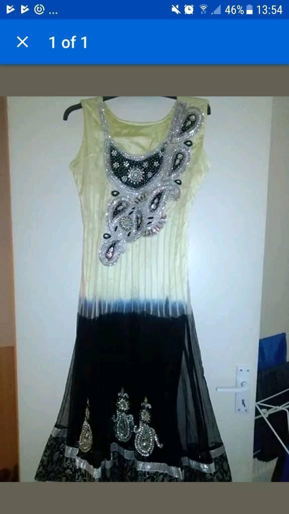 Indian women's party dress