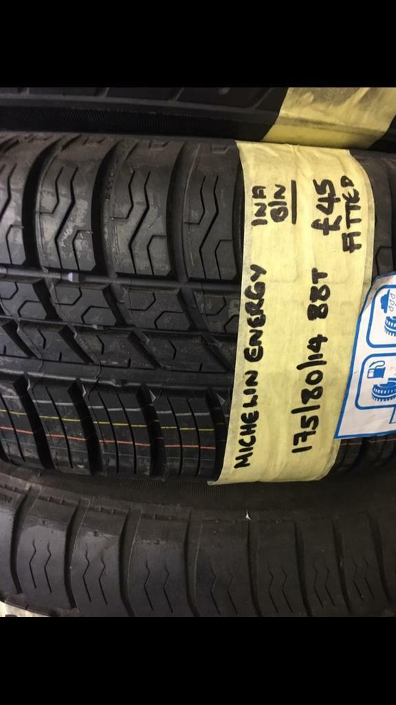 175/80/14 88T MICHELIN ENERGY TYRE