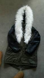 Parker coat size 14