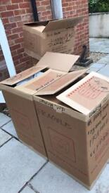 Strong cardboard boxes