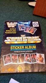 WWF Superstars Sticker Album