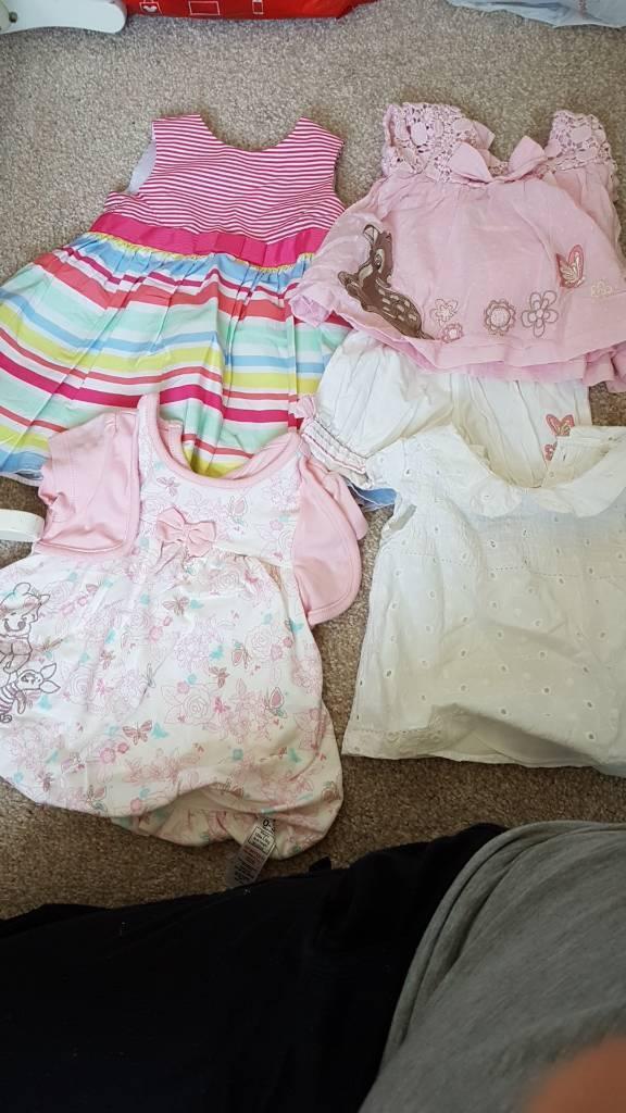 Summer bundle 0-3months girls