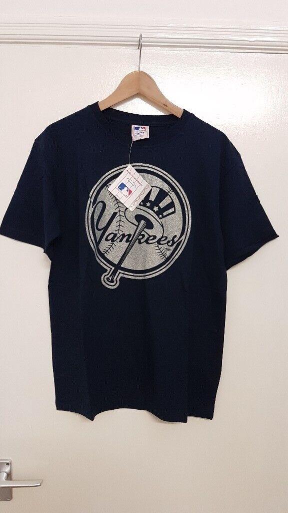 the best attitude 29602 e3a84 MEDIUM Men's Blue New York Yankees T-Shirt Majestic Athletic NY Baseball  MLB Man | in Leeds City Centre, West Yorkshire | Gumtree