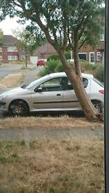 Peugeot 206 spares or repairs no m o t