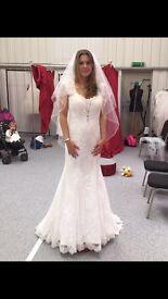 Brand New Fishtail wedding dress £400
