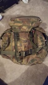 British Army back pack