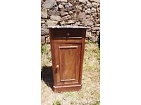 Vintage Retro French Bedside Table Cabinet - Chest Of Drawers Art Deco (6)