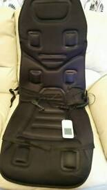 Car seat heater with vibrations