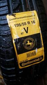 Continental tyre 195 55 16