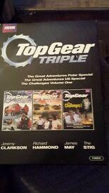 Top gear triple set dvds