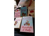 Shopaholic book collection