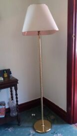 Lacquered Metal Floor Lamp