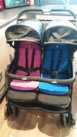 Joie Aire Double Pushchair Twin Buggy