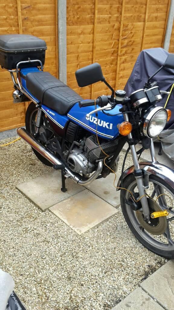 Suzuki gt 200 x5 blue